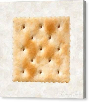 Saltine Cracker Canvas Print