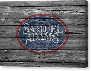 Samuel Adams Canvas Print by Joe Hamilton