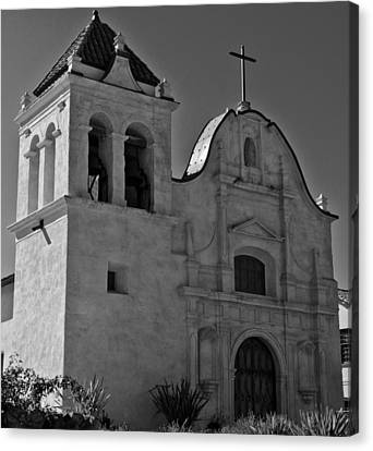 Canvas Print featuring the photograph San Carlos Cathedral by Ron White