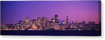 San Francisco, California, Usa Canvas Print by Panoramic Images