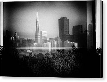 San Francisco Skylines Canvas Print by Celso Diniz