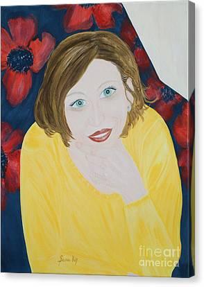 Sana. Inspirations Collection. Canvas Print by Oksana Semenchenko