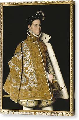 Sanchez Coello, Alonso 1531-1588 Canvas Print