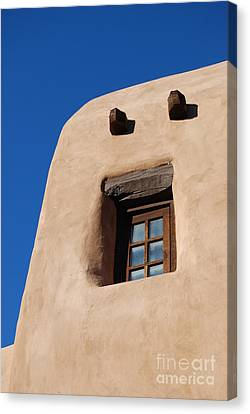 Canvas Print featuring the photograph Santa Fe Secrets by Gina Savage