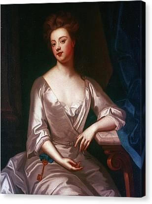 Decolletage Canvas Print - Sarah Churchill (1660-1744) by Granger