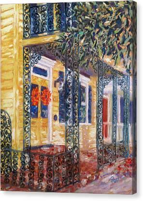 Savannah Autumn Canvas Print