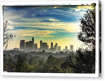 Scene @ Los Angeles Canvas Print