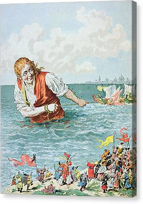 Scene From Gullivers Travels Canvas Print by Frederic Lix