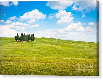 Scenic Tuscany Canvas Print by JR Photography