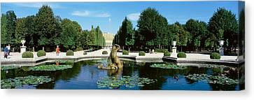 Schonbrunn Palace, Vienna, Austria Canvas Print by Panoramic Images