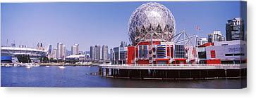 Science Museum At The Waterfront Canvas Print