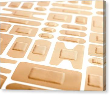 Selection Of Adhesive Plasters Canvas Print by Science Photo Library