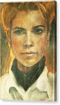 Self Portrait Canvas Print by Janet Kearns