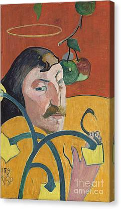 Self Portrait Canvas Print by Paul Gauguin
