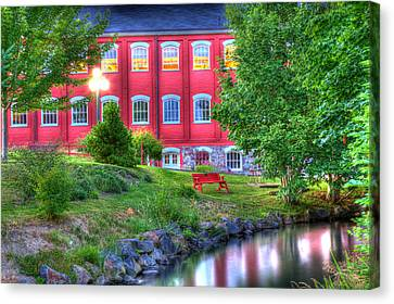 Serenity In Hdr Canvas Print