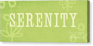 Calming Canvas Print - Serenity by Linda Woods