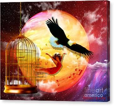 Set Free Canvas Print by Dolores Develde