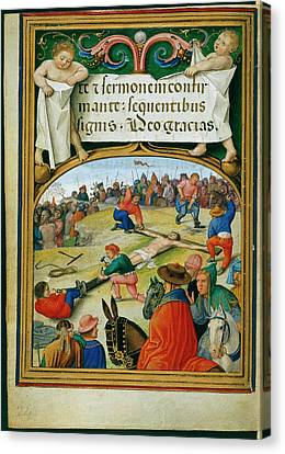 Sforza Hours Canvas Print by British Library