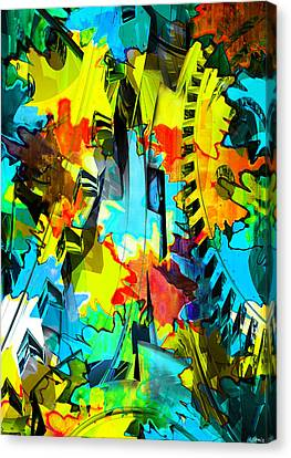 Shifting Gears Canvas Print by Catherine Harms