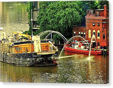 Ship Shape Canvas Print by Frozen in Time Fine Art Photography