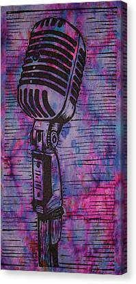 Shure 55s Canvas Print by William Cauthern