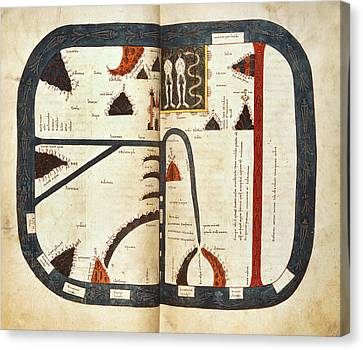 Silos Apocalypse Canvas Print by British Library