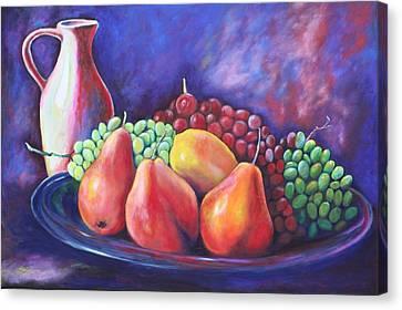 Simple Abundance Canvas Print by Eve  Wheeler
