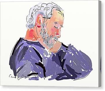 Sleepy Joe Canvas Print