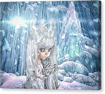 Snow Queen Canvas Print by Mo T