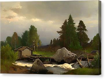 Sorsakoski Canvas Print by Mountain Dreams