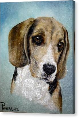 Soul Of  A Beagle Canvas Print