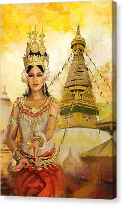 South East Asian Art Canvas Print by Corporate Art Task Force