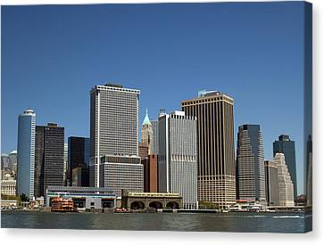 Canvas Print featuring the photograph South Ferry by Jim Poulos
