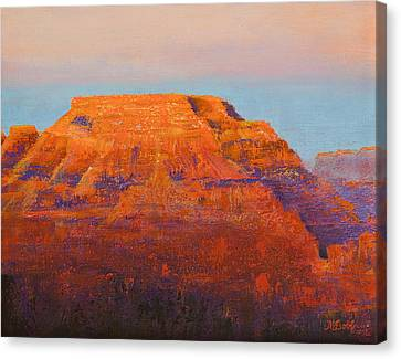 South Rim Sunset Canvas Print