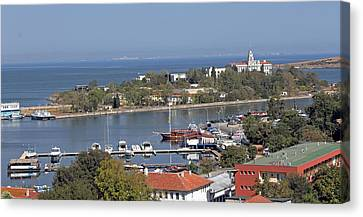 Sozopol Harbour Canvas Print by Tony Murtagh