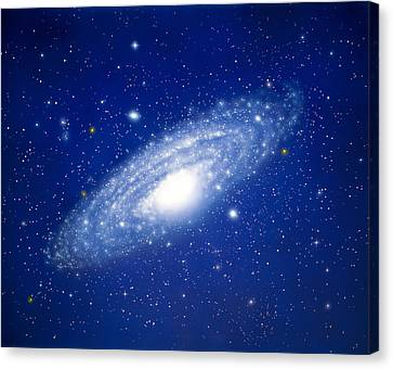 Space Canvas Print by Panoramic Images
