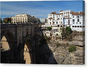 Spain, Andalucia Region, Malaga Canvas Print