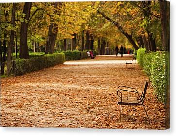 European Union Canvas Print - Spain, Madrid, Parque Del Buen Retiro by Walter Bibikow