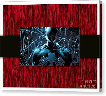 Spiderman Canvas Print by Marvin Blaine