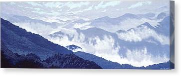 Spirit Of The Air Canvas Print by Blue Sky