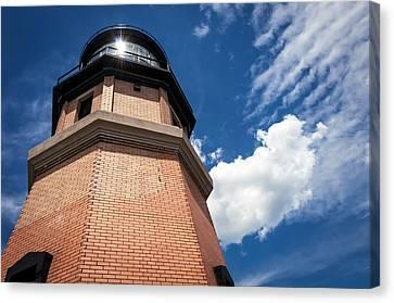 Split Rock Lighthouse Canvas Print by Paul Plaine
