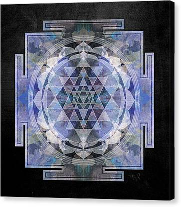 Sri Yantra  Canvas Print by Filippo B