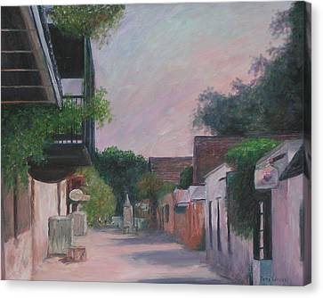 St. George Street Canvas Print