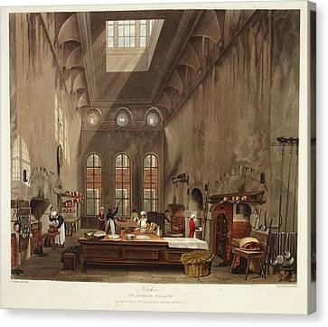 Cooks Illustrated Canvas Print - St. James's Palace by British Library