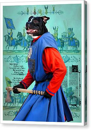 Staffordshire Bull Terrier Art Canvas Print Canvas Print