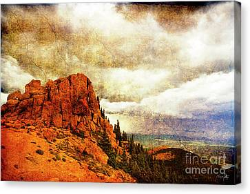 Canon 7d Canvas Print - Standing Against The Storm by Scott Pellegrin