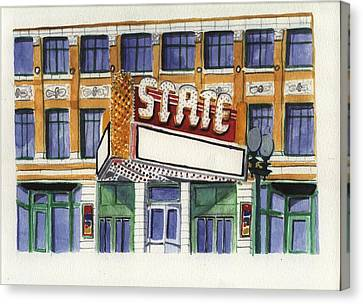 State Theater Canvas Print