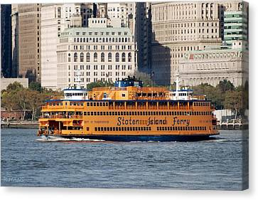 Staten Island Ferry Canvas Print by Rob Hans