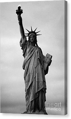 American Independance Canvas Print - Statue Of Liberty National Monument Liberty Island New York City by Joe Fox