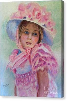 Steffi Canvas Print by Marcia Dutton